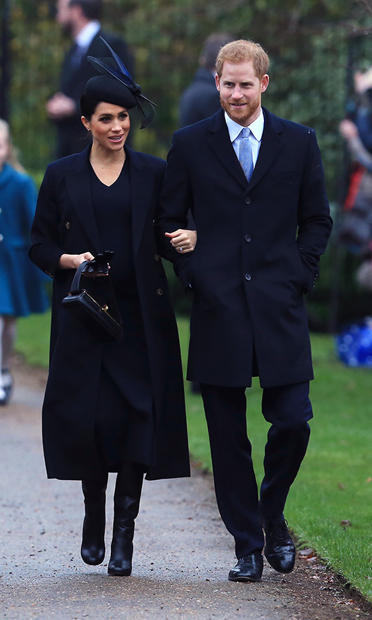 Prince Harry and Meghan made quite the dapper pair as they walked arm in arm. Early next year the couple will move from London to Windsor to make Frogmore Cottage their first family home.