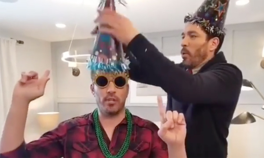 <h2>Drew and Jonathan Scott</h2>