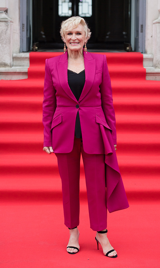 Glenn Close, 71, couldn't have looked any more elegant 
