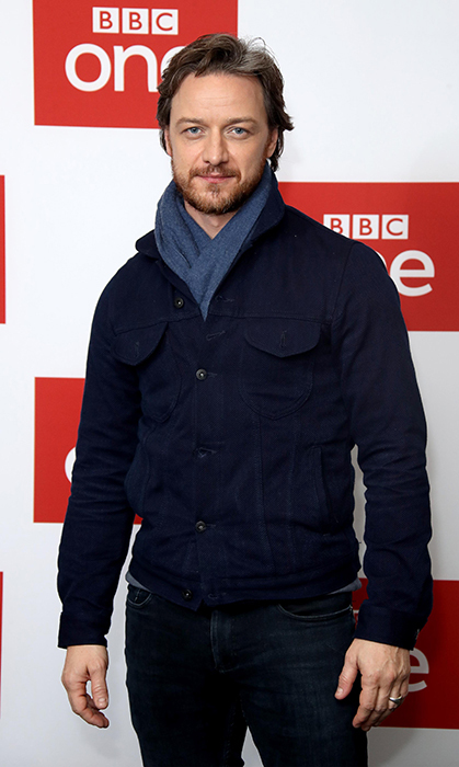<h2>JAMES McAVOY - 40</h2>