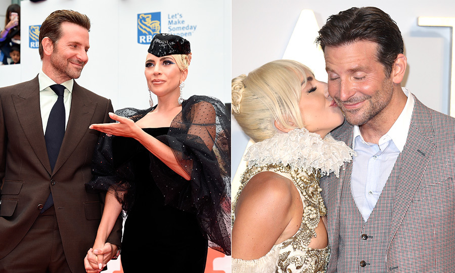 Lady Gaga and Bradley Cooper's sweetest moments - HELLO! Canada