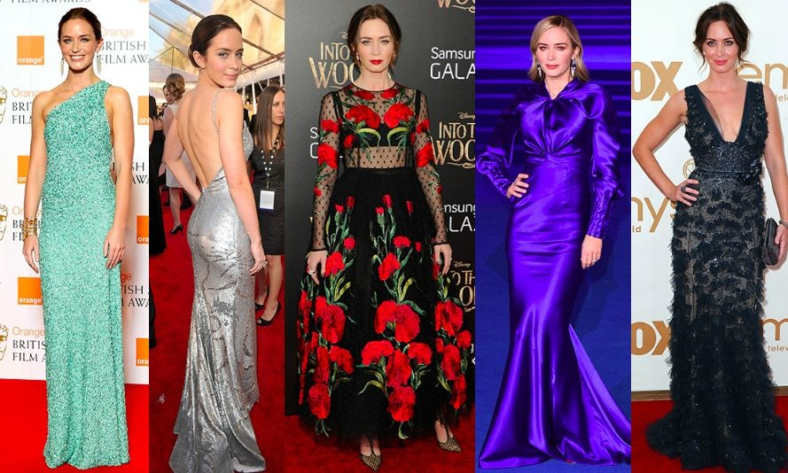 "The devil may wear Prada, but so does <a href=""https://ca.hellomagazine.com/tags/0/emily-blunt/""><strong>Emily Blunt</strong></a> - and she's our guardian angel when it comes to the red carpet! Ever since her breakthrough role opposite <a href=""https://ca.hellomagazine.com/tags/0/meryl-streep/""><strong>Meryl Streep</strong></a> and <a href=""https://ca.hellomagazine.com/tags/0/anne-hathaway/""><strong>Anne Hathaway</strong></a> in <em>The Devil Wears Prada</em>, the mother of two – and wife of actor <a href=""https://ca.hellomagazine.com/tags/0/john-krasinski/""><strong>John Krasinski</strong></a> – has been scoring sartorial top honours at every turn. From her old Hollywood tendencies and romantic princess gowns to glittering slip dresses, the 35-year-old <em>Mary Poppins Returns</em> star leaves no stone unturned when it comes to her wardrobe.