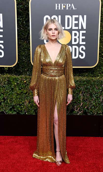 Lucy Boynton in Celine