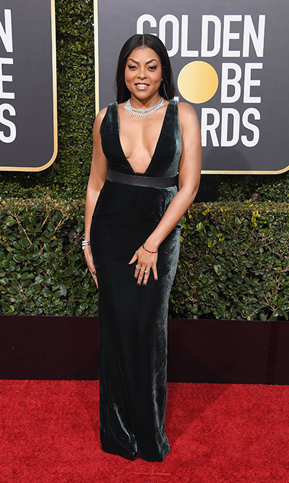 Taraji P Henson in Vera Wang