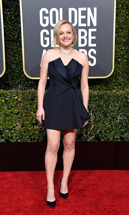 Elisabeth Moss in Christian Dior