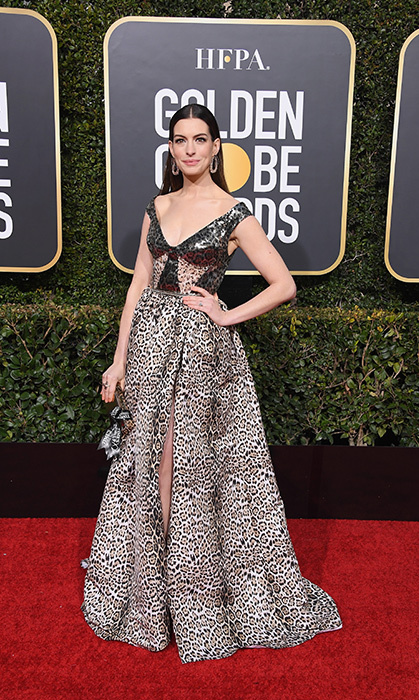 Anne Hathaway in Elie Saab