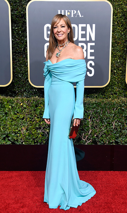 Allison Janney in Christian Siriano