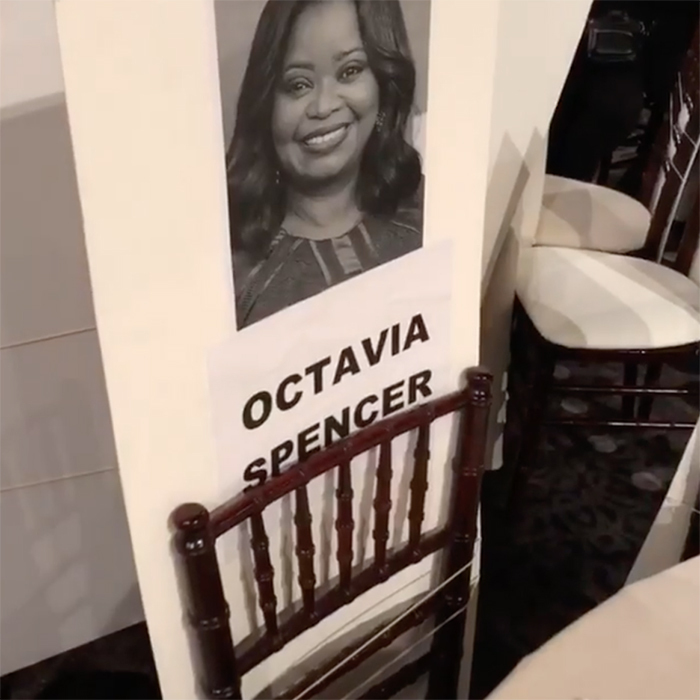"""Getting ready for the biggest party of the season... oh and they give out awards, too!! Congratulations to all nominees,"" <em>Green Book</em> star Octavia Spencer wrote on Instagram.