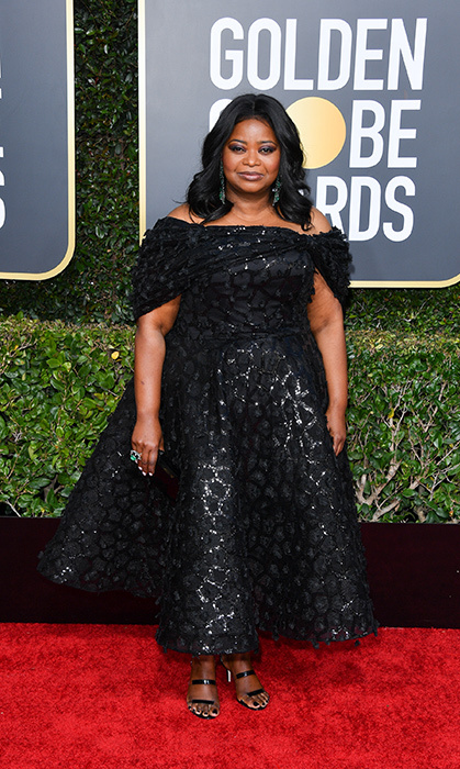 Octavia Spencer in Christian Siriano
