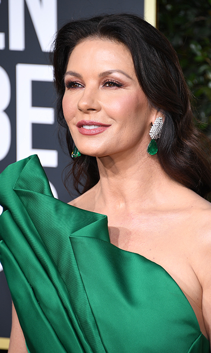 Catherine Zeta Jones in Lorraine Schwartz