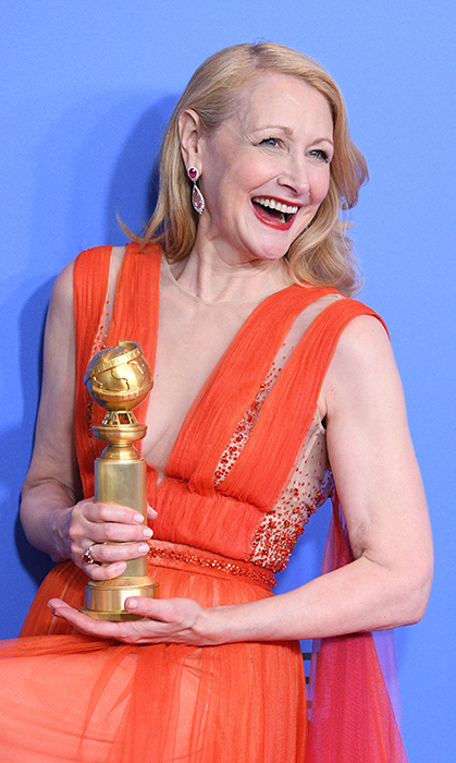 Patricia Clarkson in Harry Winston