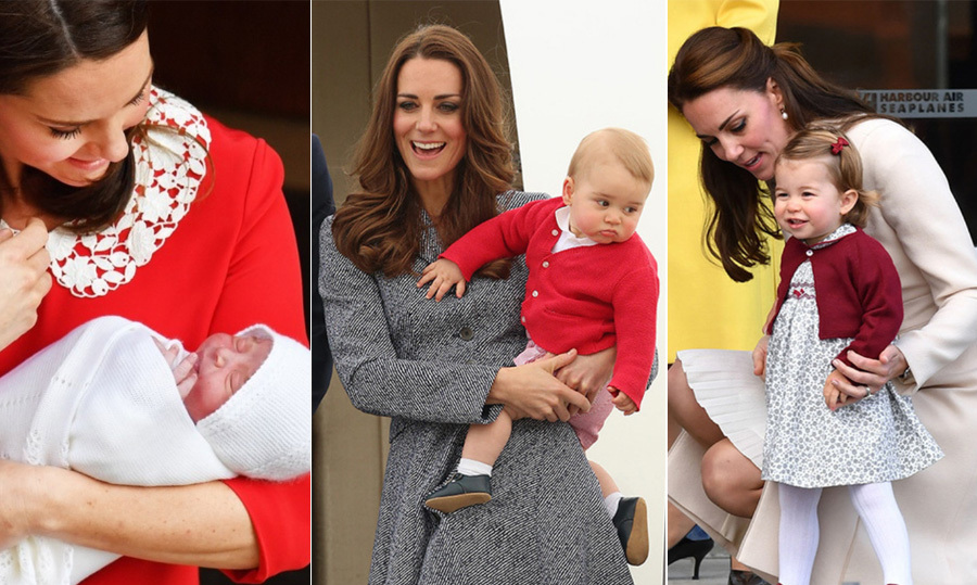 "The <a href=""https://ca.hellomagazine.com/tags/0/kate-middleton/"" target=""_blank""><strong>Duchess of Cambridge</strong></a> has one cute trio of children on her hands! Her eldest <a href=""https://ca.hellomagazine.com/tags/0/prince-george/"" target=""_blank""><strong>Prince George</strong></a> is quickly growing into a handsome little boy, set to ring in his sixth birthday in July. Meanwhile, <a href=""https://ca.hellomagazine.com/tags/0/prince-william-and-kate/"" target=""_blank""><strong>Prince William and Kate</strong></a>'s sweet little girl, <a href=""https://ca.hellomagazine.com/tags/0/princess-charlotte/"" target=""_blank""><strong>Princess Charlotte</strong></a>, has shown off quite the personality as she looks more and more like her mom every day. It was a wonderful year for the young royals in 2018 when they welcomed their baby sibling, <a href=""https://ca.hellomagazine.com/tags/0/prince-louis/"" target=""_blank""><strong>Prince Louis</strong></a>, in April. Over all these years, royal watchers have been treated to the sweetest snaps and cutest moments between doting mom Kate and her kids.