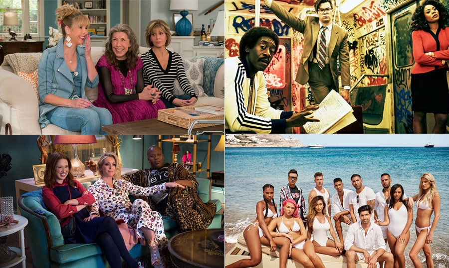 The cold winter weather is a great time to curl up in bed with a new TV show – and this season's lineup doesn't disappoint! From new shows, from <em>Lindsay Lohan's Beach Club</em> to Nina Dobrev's small-screen return <em>Fam</em>, to old favourites, like <em>Grace and Frankie</em> and <em>Shameless</em>, there's a little something for everyone this time of year.