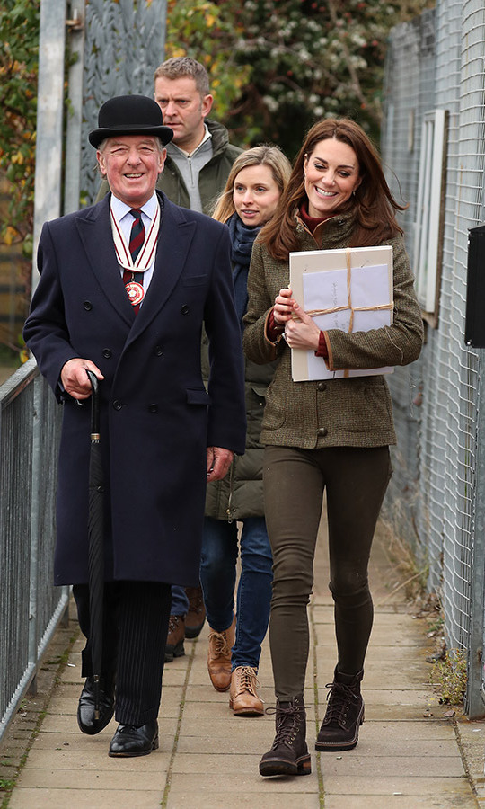 Kate was all smiles as she kicked off the new year in Islington, touring a space supported by the local council! She learned all about the community garden from volunteers and saw just how much can grow in a small, urban space.