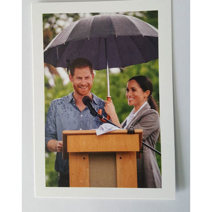 "Surprise! Prince Harry and Meghan's romance is the gift that keeps on giving – and a fan revealed on Jan. 17 that the couple had a <em>second</em> Christmas card. The thank you note read: ""The Duke and Duchess of Sussex, thank you for the very kind message you sent for Christmas.""
