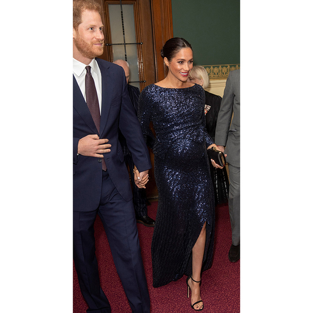 Prince Harry And Meghan's Cirque Du Soleil PDA