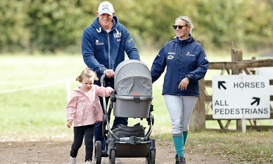 "The couple faced <a href=""https://ca.hellomagazine.com/royalty/02018090747134/zara-tindall-talks-two-miscarriages"">two devastating miscarriages</a> before welcoming their second daughter, Lena Elizabeth, and bravely shared them with the public - one in 2016, just a month after they'd announced their pregnancy, and a second that they didn't reveal until after their second daughter was born. On June 19, 2018, <a href=""/tags/0/lena-tindall/"">Baby Lena</a> broke a record at 9 lbs, 3 oz., clocking in as the heaviest royal baby in recent years. Once again, dad was in the room for the delivery and the couple shared her name in a statement nine days later, with Mike taking to Twitter to make sure his 150,000+ followers were pronouncing her moniker right, as ""Lay-na."" Just 12 days later, Zara, Mike and Mia attended the Celtic Manor Resort's Celebrity Cup gold tournament.