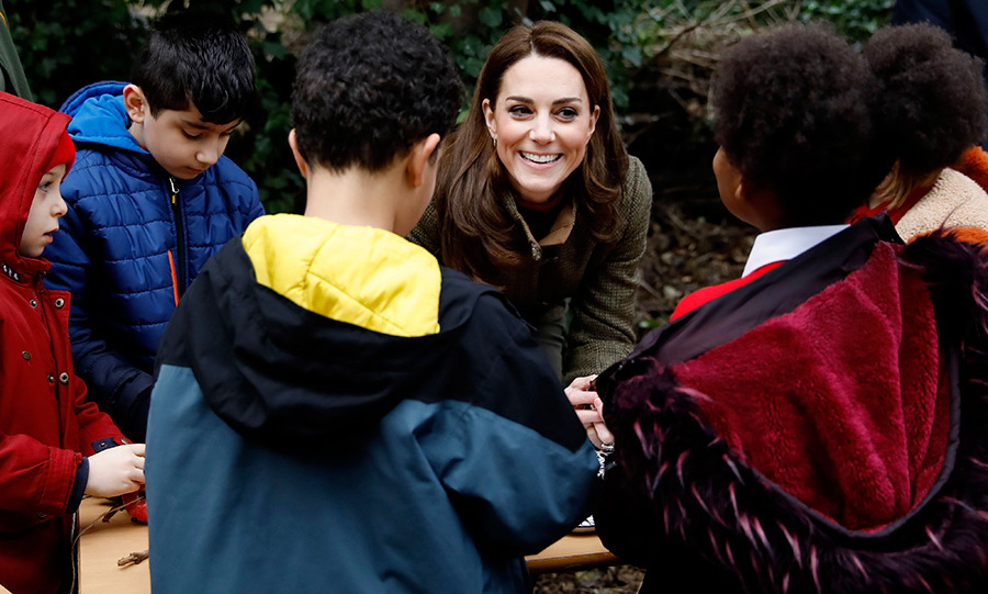 The athletic royal loves spending time in the great outdoors, especially with her children. 