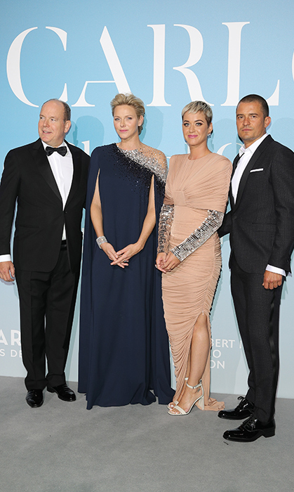 Prince Albert II of Monaco and Princess Charlene joined 