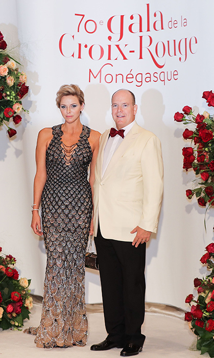 Princess Charlene looked like a real-life mermaid in the glamorous gown she wore to the 70th annual Red Cross Gala in 2018.