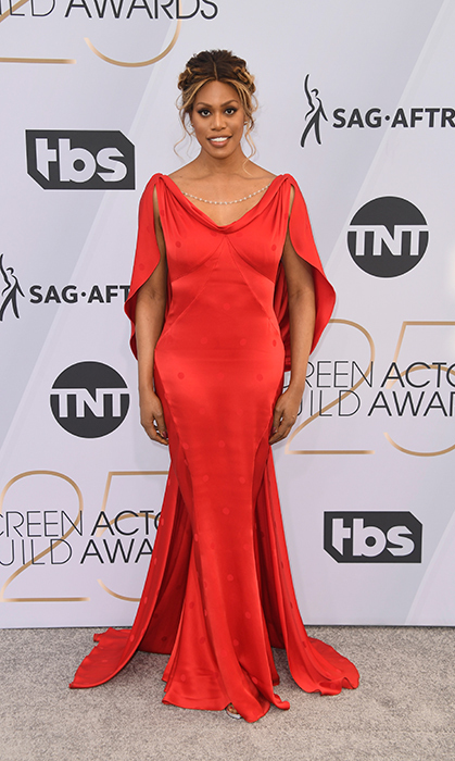 Laverne Cox in Zac Posen