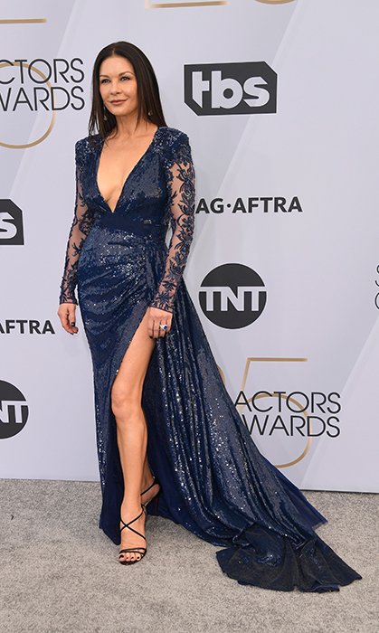 Catherine Zeta-Jones in Zuhair Marad