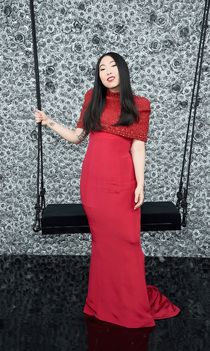 Awkwafina in Mimi Plang