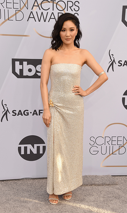 Constance Wu in Oscar de la Renta