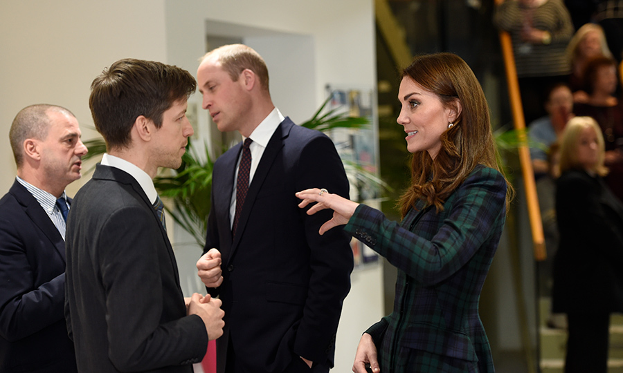 Kate took plenty of time to chat with members of the Michelin Action Group.
