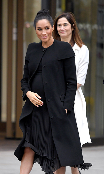 Meghan looked beautiful as ever for her visit to the University of London.