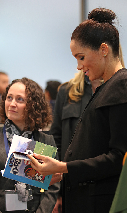 Meghan looked at <em>Denali Dreams</em>, a book for native American Indian children about the dangers of tobacco use.