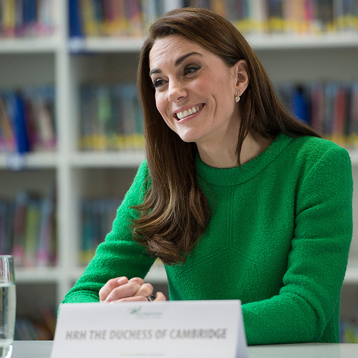The duchess was visiting Alperton Community School in London in support of Place2Be.