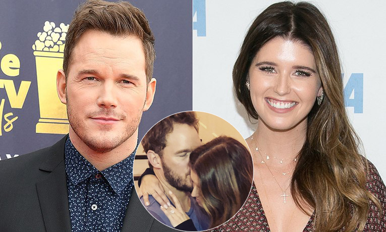 <h2>Chris Pratt and Katherine Schwarzenegger</h2>