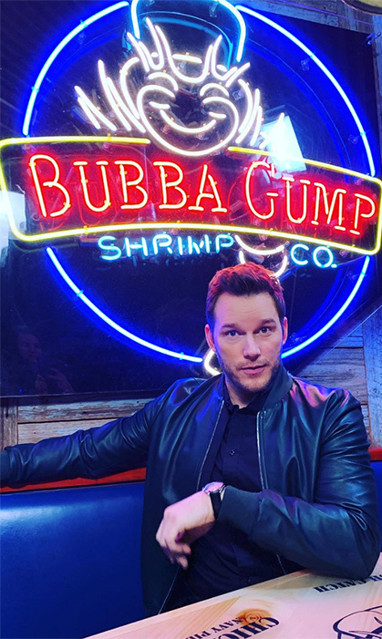 "Chris Pratt took a trip down memory lane when he visited one of his own places of employment. He shared the nostalgic photo on Instagram, captioning it: ""Twenty years ago I was a waiter at Bubba Gump Shrimp Company. Every time I go back I'm reminded of the thousands of shrimp I ate off of people's plates on the way back to the kitchen. Please tip your server. Leave at least 20%. Also leave some shrimp.""