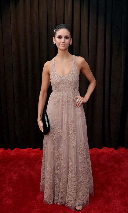 Nina Dobrev in Dior