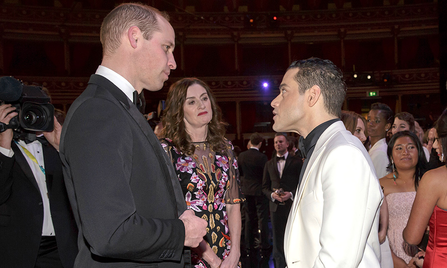 While attending the 2019 BAFTAs, Prince William had the chance to chat with on-screen Freddy Mercury, frontman of Queen, Golden Globe winner Rami Malek, who took home the award for Best Actor that evening! <em>Bohemian Rhapsody</em> took home best drama motion picture at this year's Golden Globes, and is in the running as the Oscars. We wonder if William is a big Queen fan?