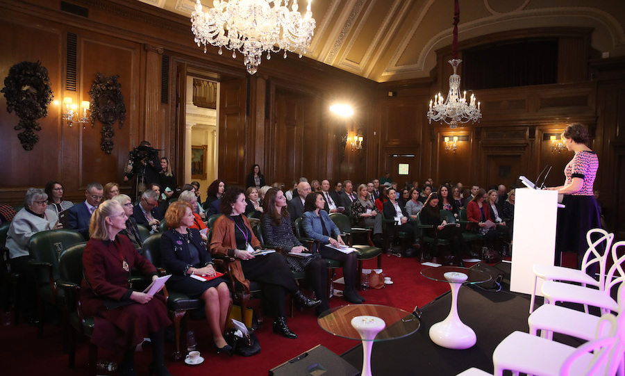 Kate joined delegates at Mercers' Hall to listen to Kate Silverton, a former <em>Strictly Come Dancing</em> competitor, deliver a talk at the conference.
