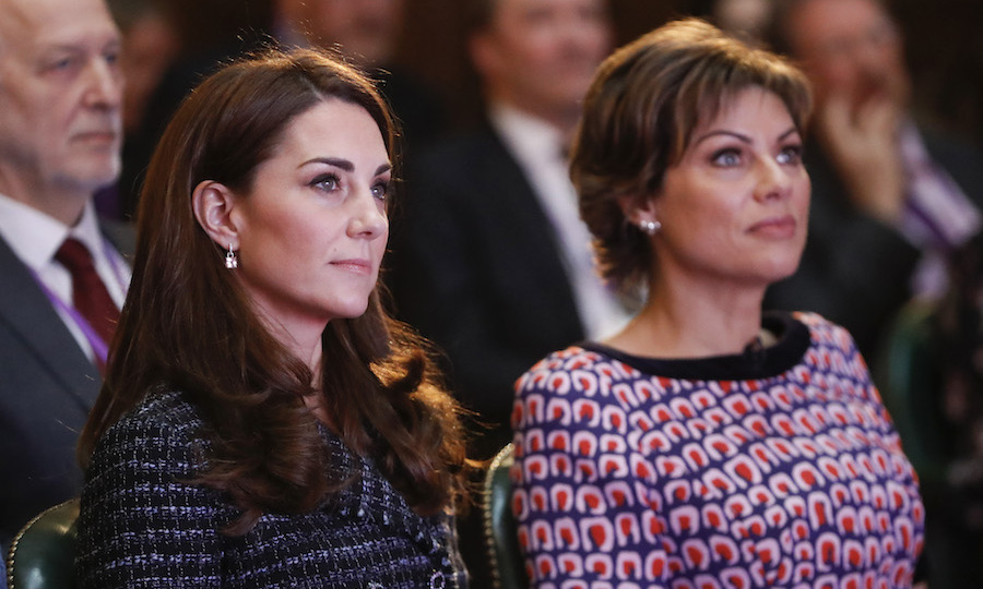 The two listened intently to a series of inspirational speakers at the mental health event. It's clear to see how important this cause is to the both of them!
