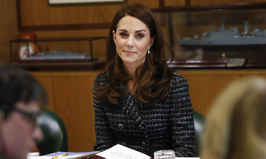 It was plain to see how passionate the duchess is about this cause. Maternal mental health is also an area of focus for Kate.