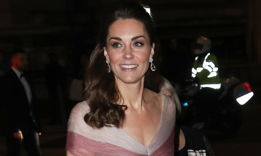 346ceff542e5 The Duchess of Cambridge is glamorous in Gucci for glitzy gala dinner