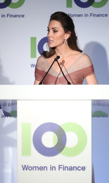 The duchess spoke passionately about the cause close to her heart.