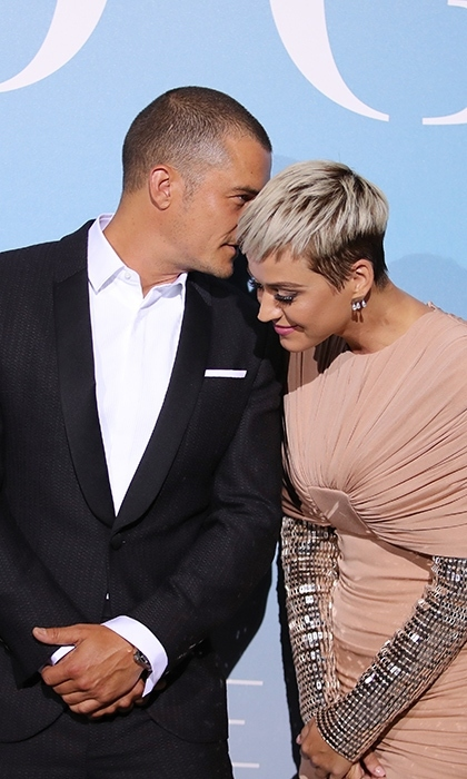 <h2>Katy Perry and Orlando Bloom</h2>