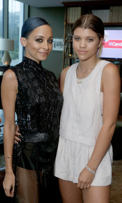 <h2>Nicole and Sofia Richie</h2>