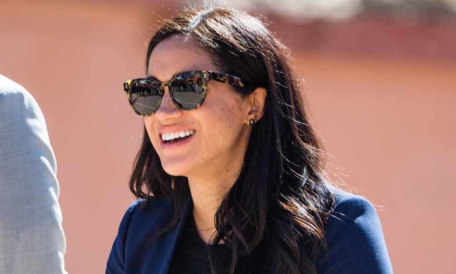 She first wore these sunglasses on royal tour in Australia, New Zealand, Fiji and the Tonga last year.
