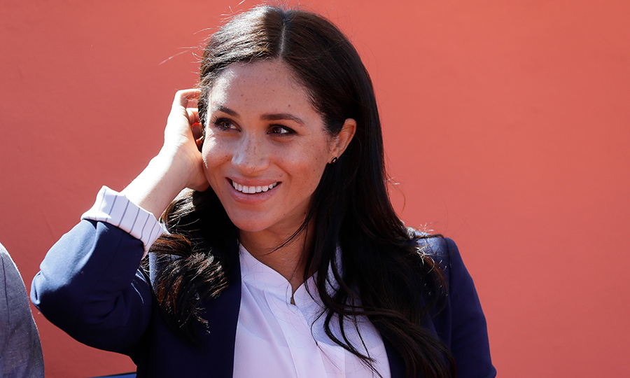 Meghan's natural beauty – and pretty freckles! – shined through during the investiture.