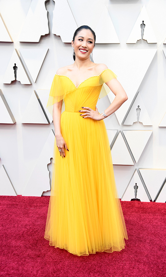 Constance Wu in Versace 