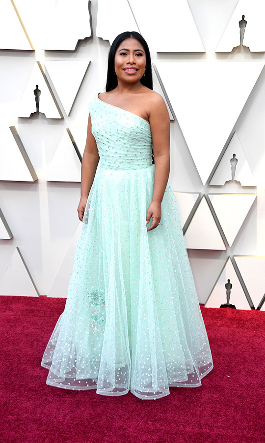 Yalitza Aparicio in Rodarte 