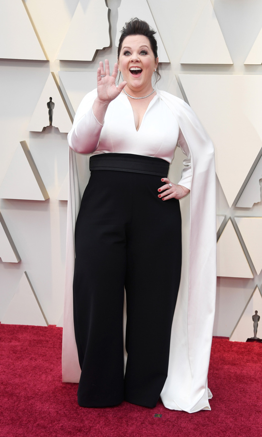 Melissa McCarthy in Brandon Maxwell