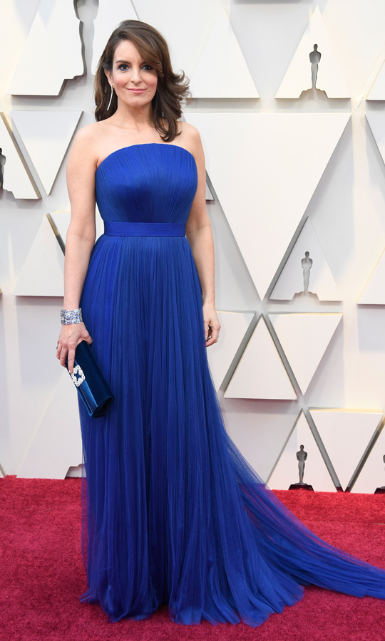 Tina Fey in Vera Wang