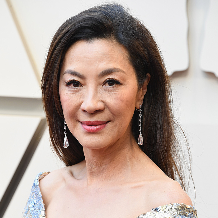 Michelle Yeoh wearing Chopard